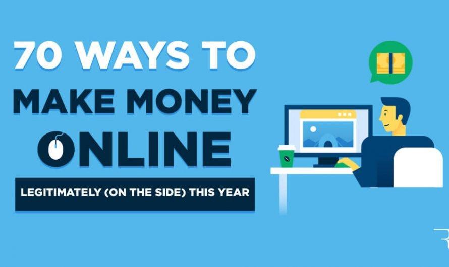 70 idées pour faire de l'argent en ligne en 2021