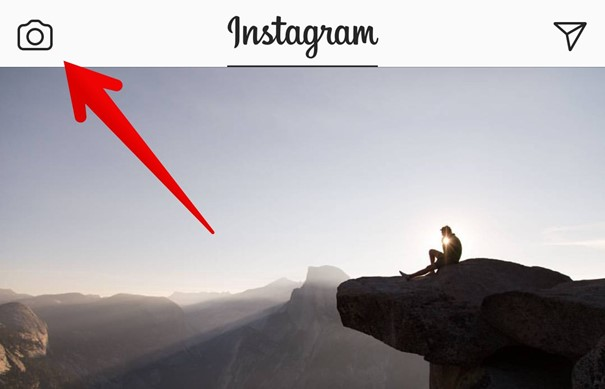 Commencer un live sur Instagram