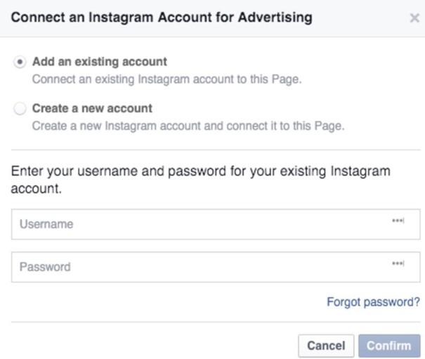paramétrer Instagram Ads